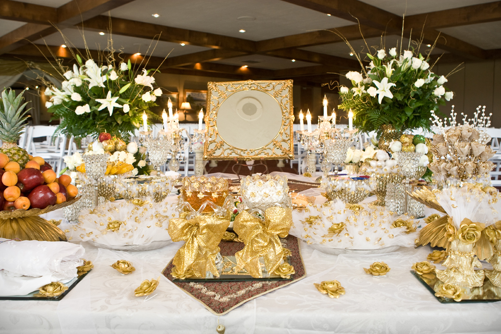 Wedding Table Mirrors