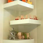 White Corner Wall Shelves