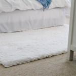White Fluffy Rug Target