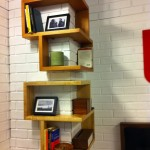 Wood Corner Wall Shelves