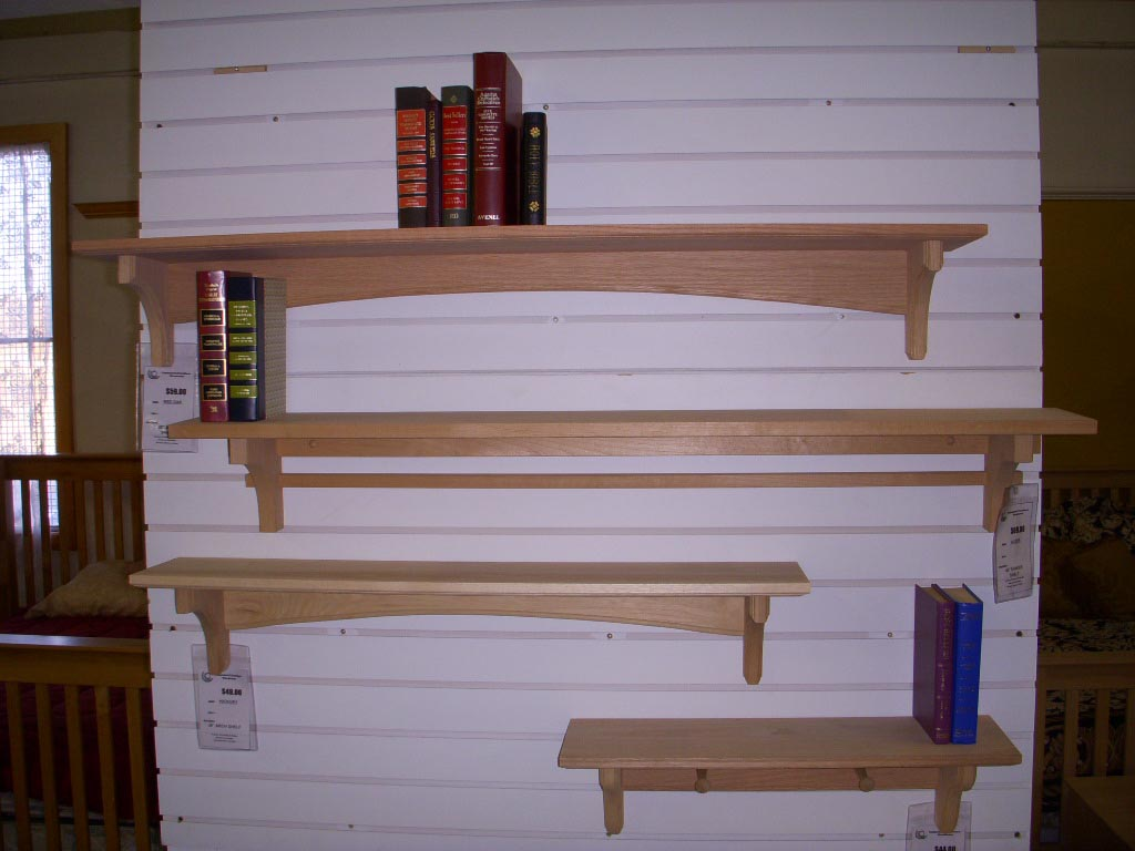 Wooden Shelves for Wall