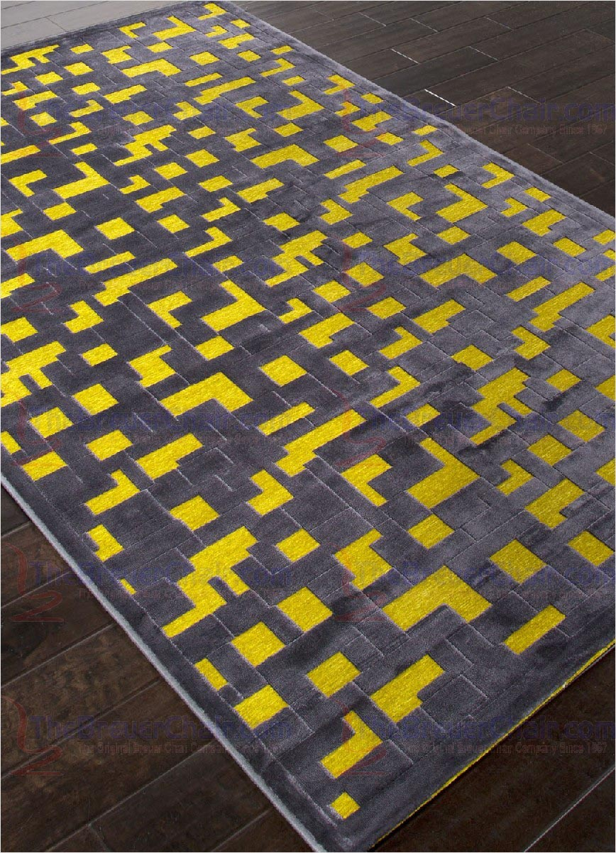 Yellow Area Rug 5x7