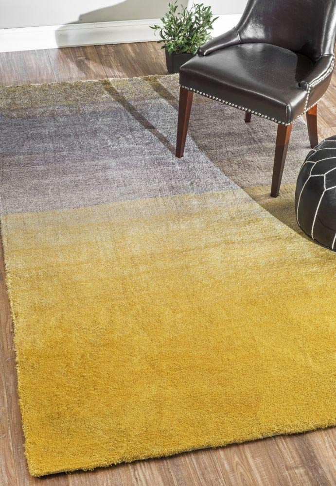 Yellow Area Rug 8x10