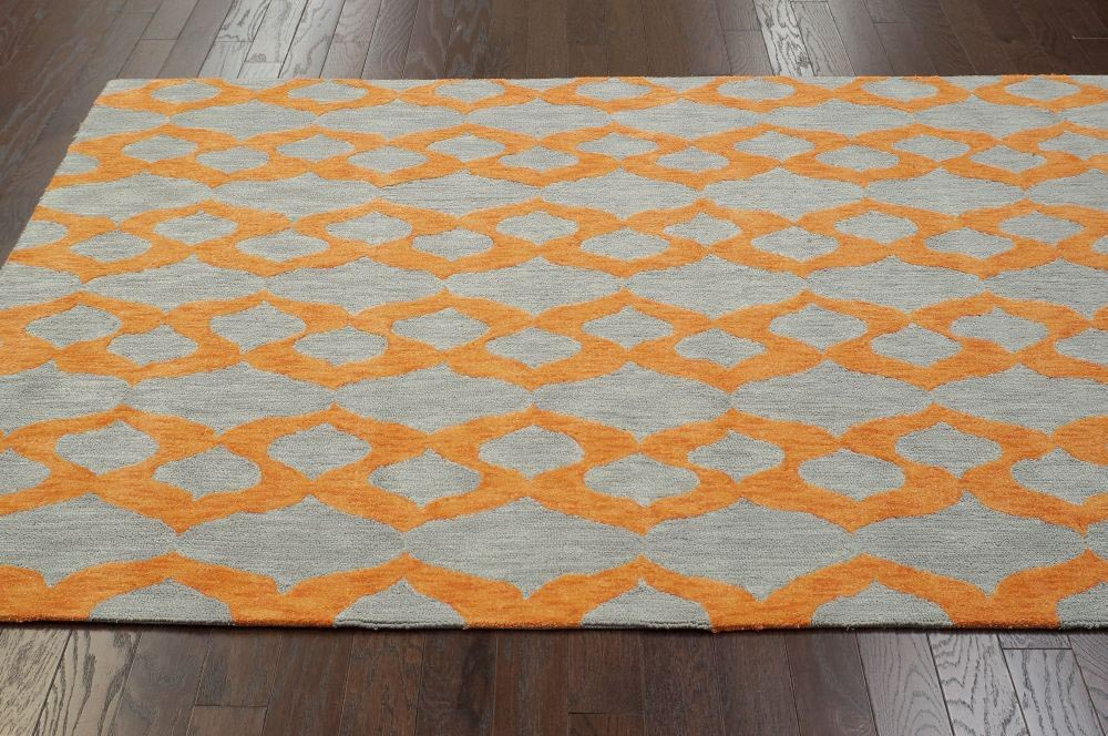 ... Yellow Grey Area Rug ...