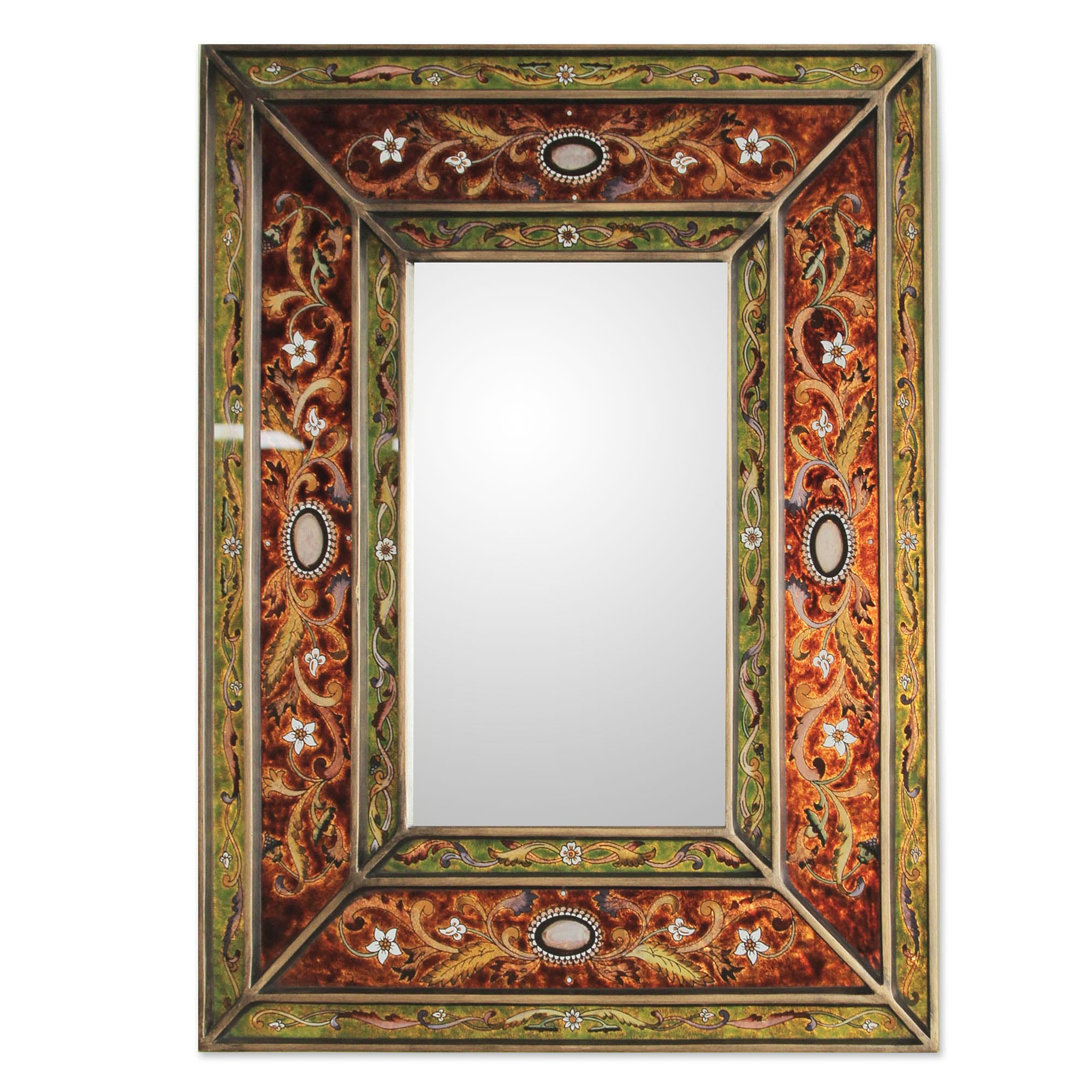 Antique wall mirrors decorative best decor things for Mirror decor
