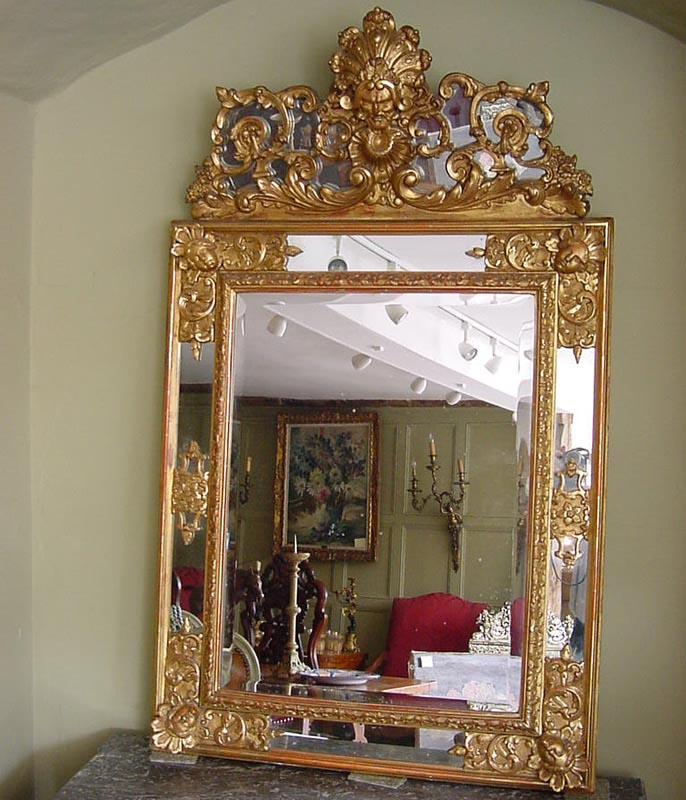 Antique wall mirrors large best decor things for Large wall mirrors for sale