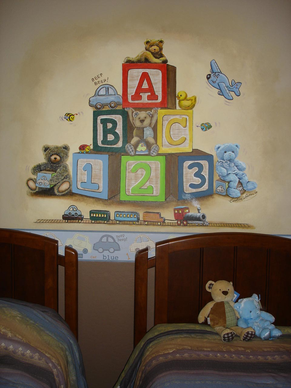 Baby Bedroom Murals