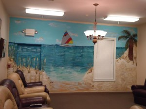 Beach Scene Wall Murals