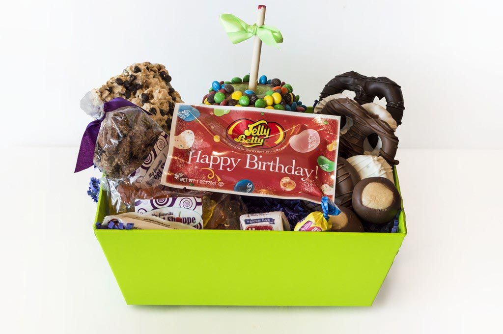 Birthday Candy Gift Baskets