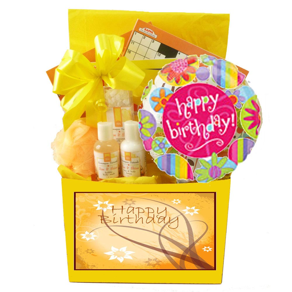 Birthday Spa Gift Baskets