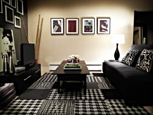 Black and White Carpet Tiles