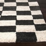 Black and White Checkered Carpet