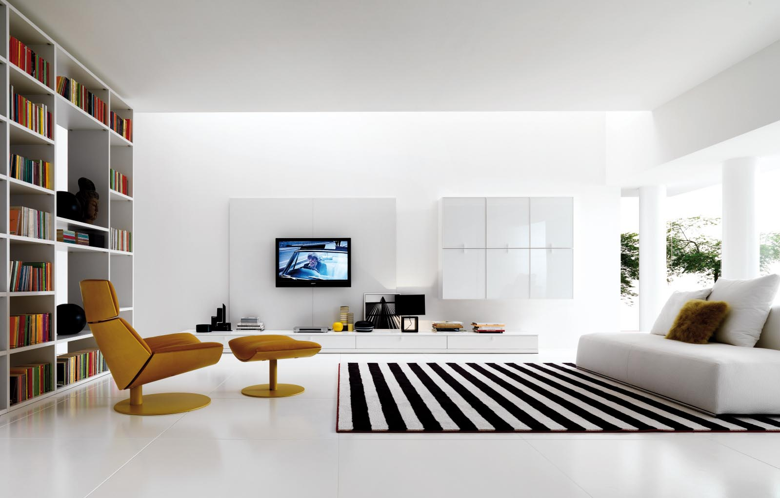 Black And White Striped Carpet | Best