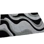 Black White and Grey Carpet