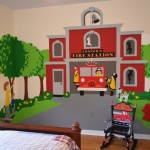 Boys Bedroom Murals