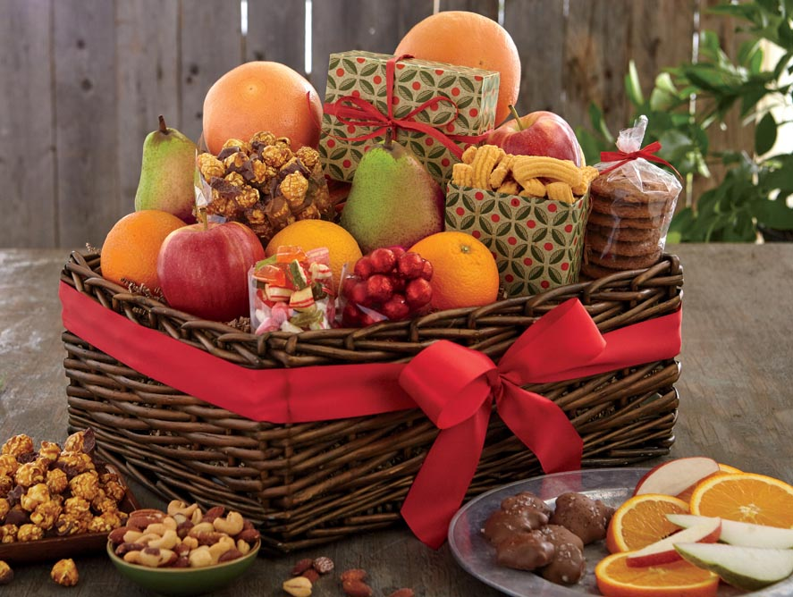 Candy Apple Gift Baskets
