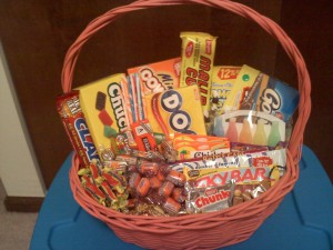 Candy Gift Baskets Delivery