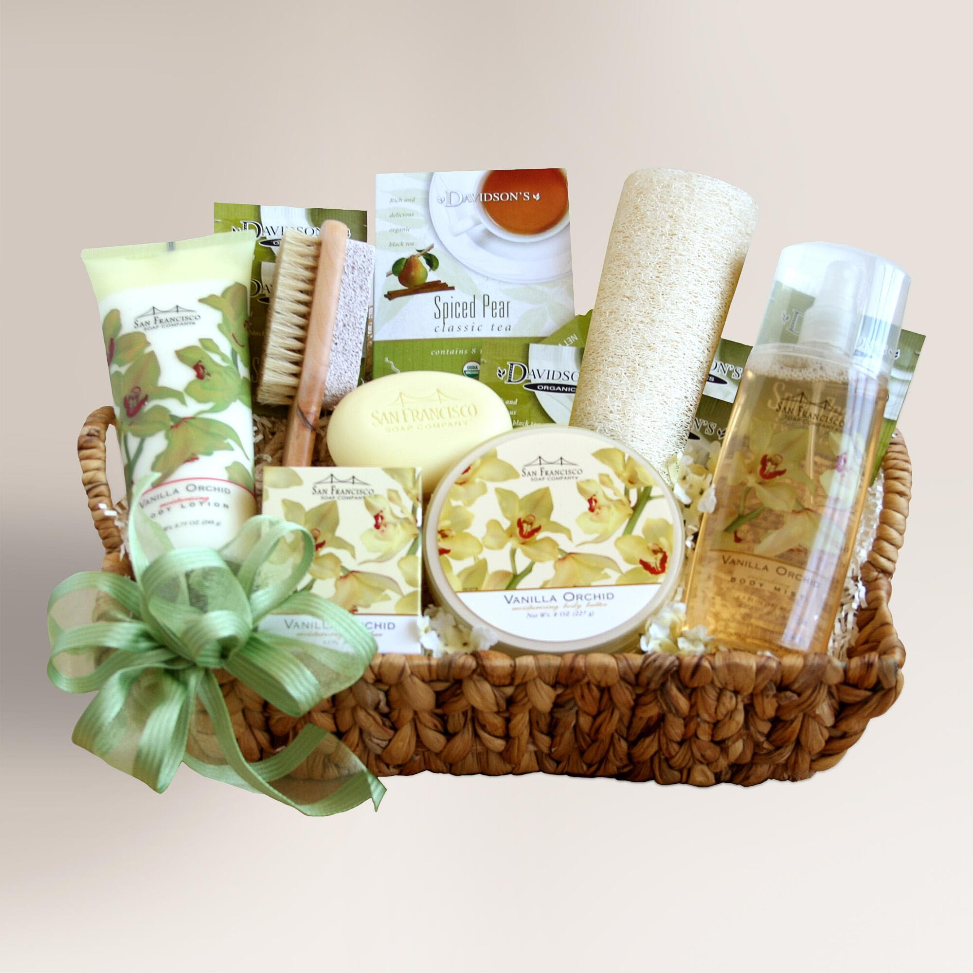 Cheap Spa Gift Baskets
