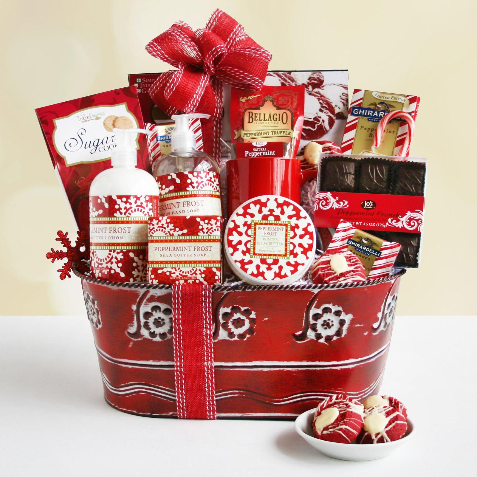 Christmas Spa Gift Baskets