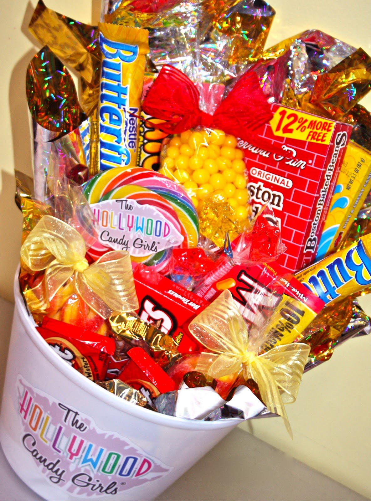 Custom Candy Gift Basket