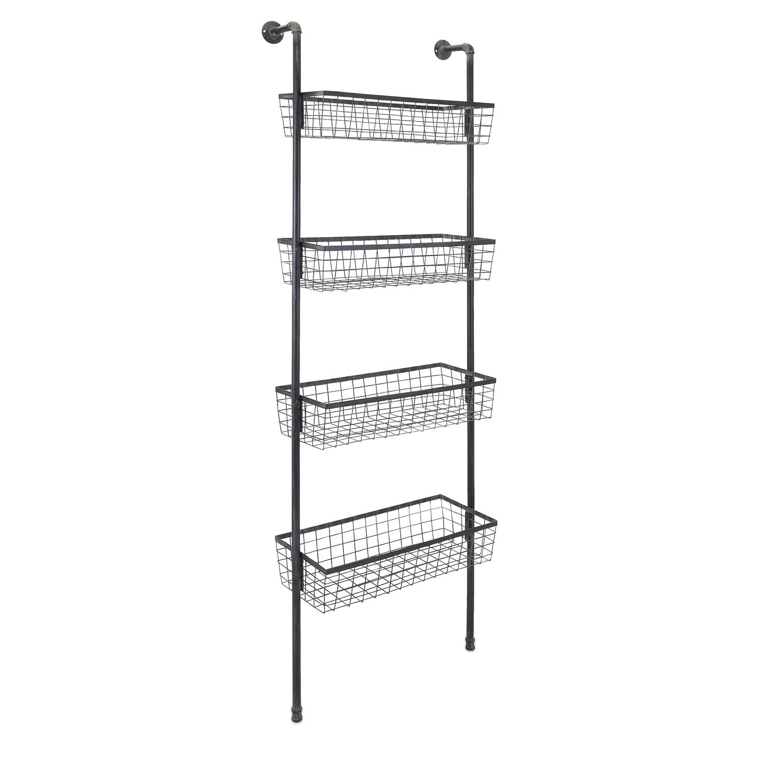 Decorative Wire Basket Shelves