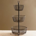 Decorative Wire Baskets Kitchen
