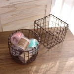 Decorative Wire Baskets Storage