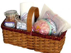 DIY Spa Gift Baskets