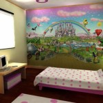 Girls Bedroom Murals