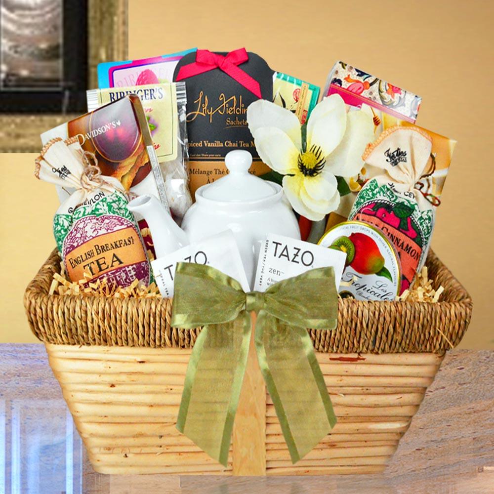 Gourmet Tea Gift Baskets