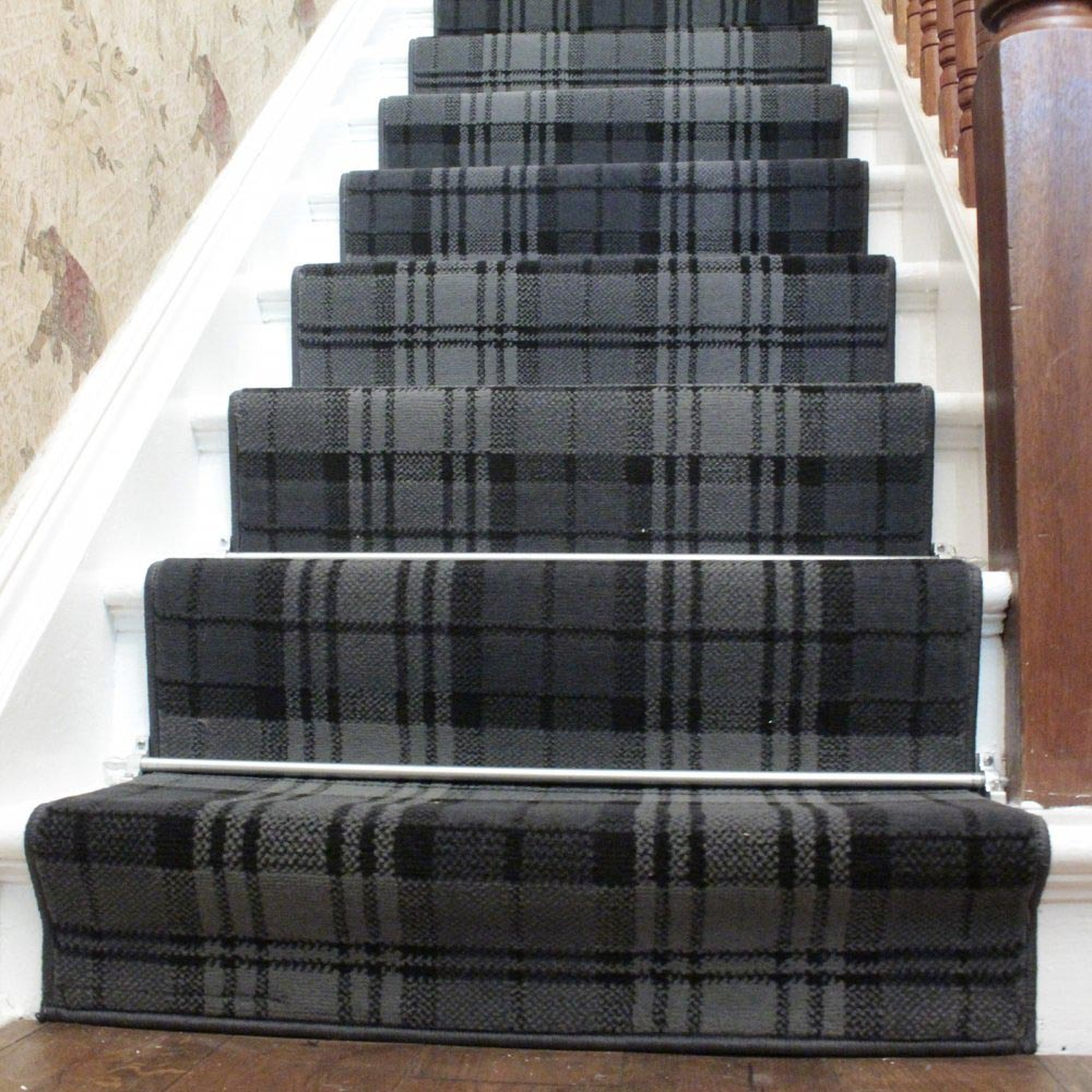 Grey Stair Carpet Runners