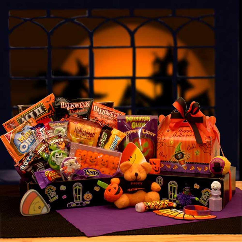 Halloween Candy Gift Baskets