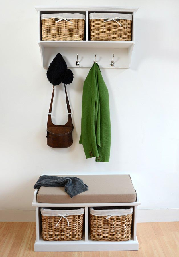 Hanging Shelf with Baskets