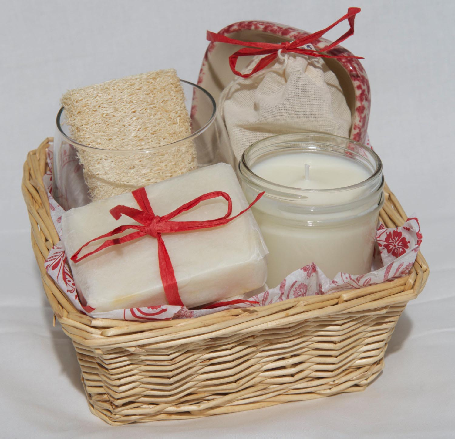 Homemade Spa Gift Baskets