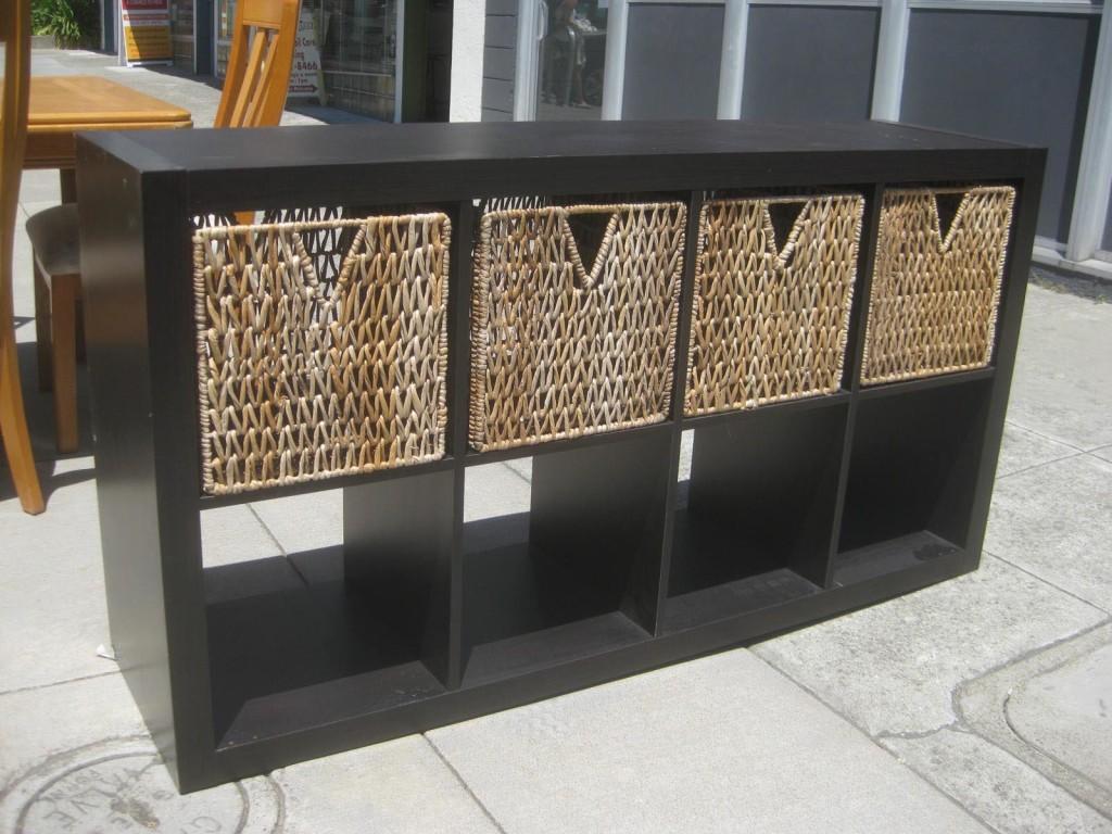 IKEA Shelf with Baskets
