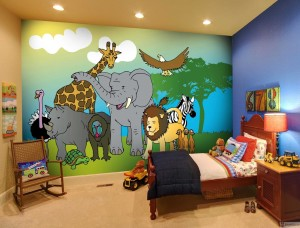Kids Bedroom Murals