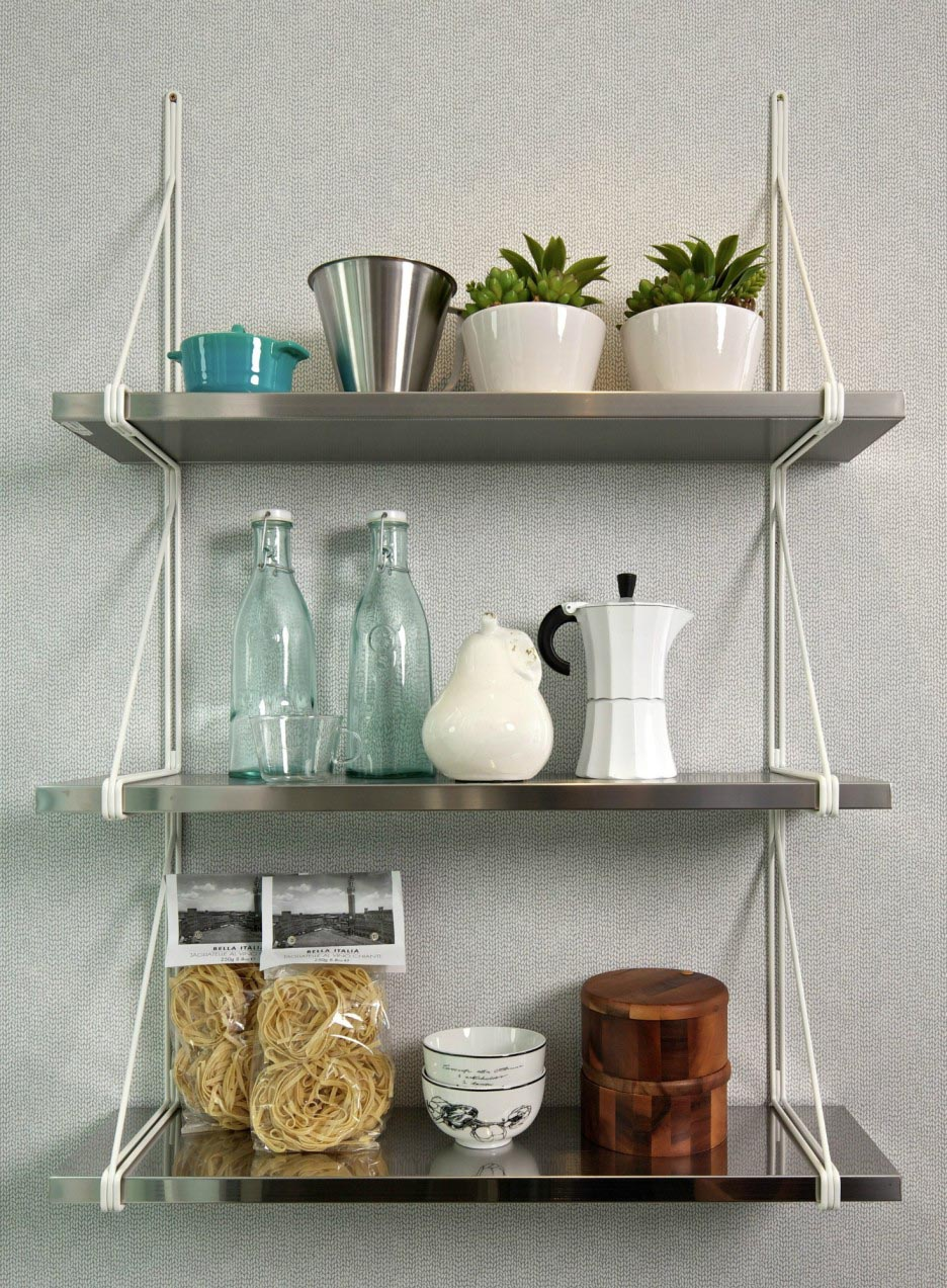 Decorative Wall Shelves For The Kitchen : Kitchen shelves wall mounted best decor things