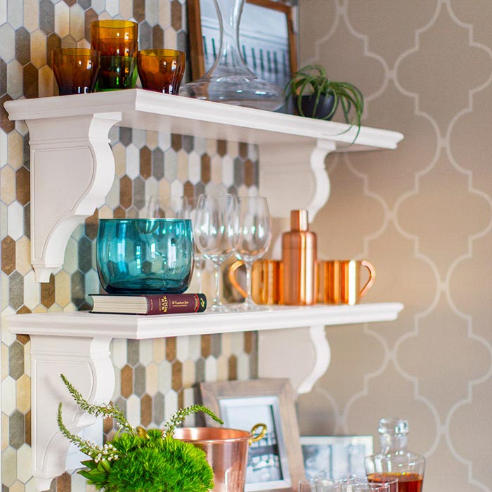 Kitchen Wall Shelves Ideas