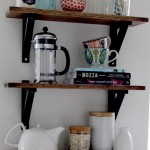 Kitchen Wall Shelves Wood