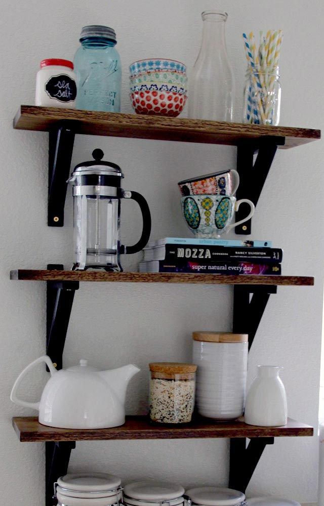 Decorative Wall Shelf For Kitchen : Keep everything at hand with kitchen wall shelves best