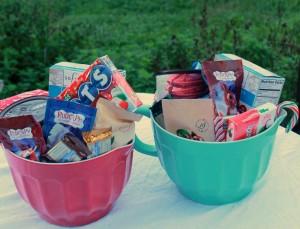Make Candy Gift Baskets