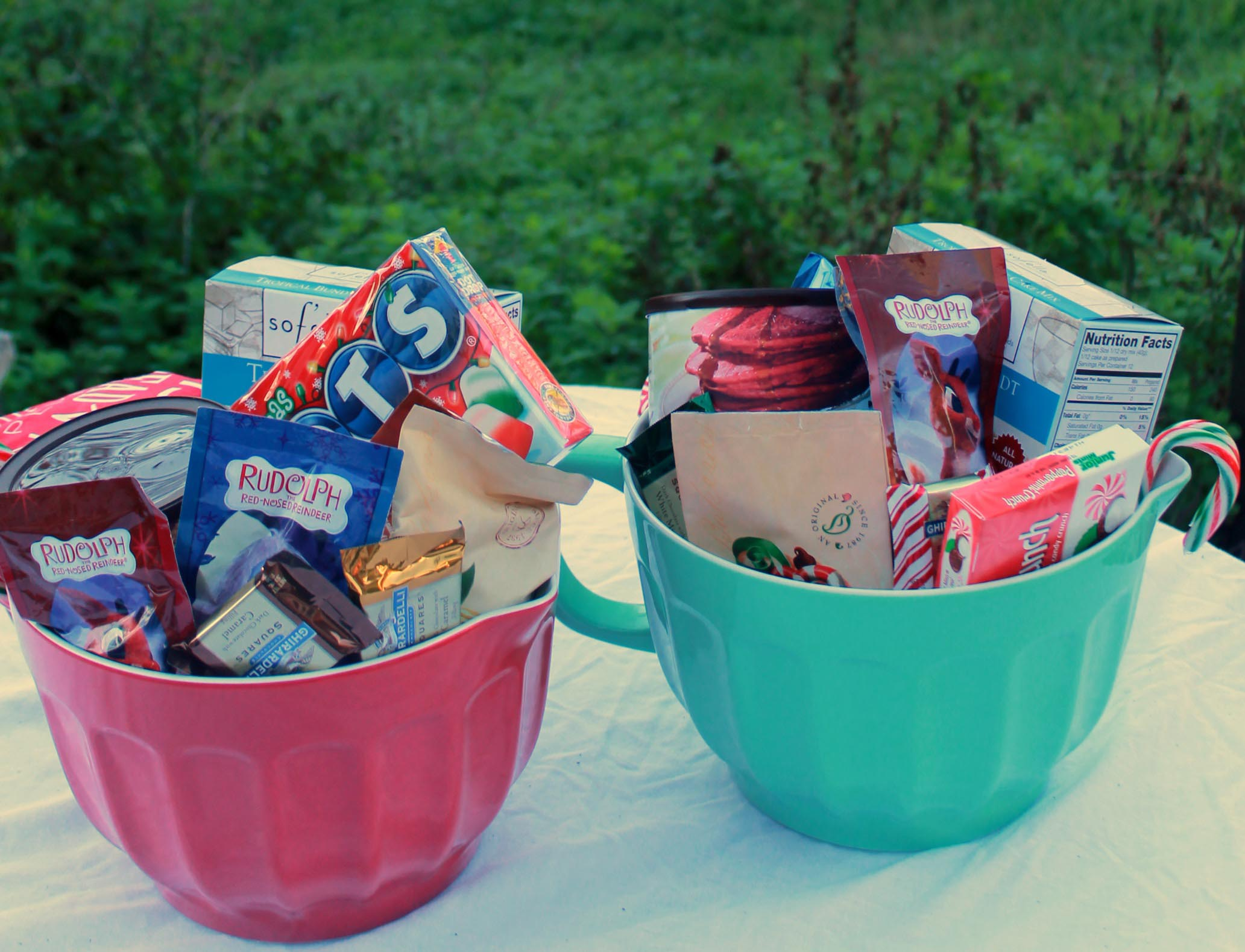 Make Candy Gift Baskets