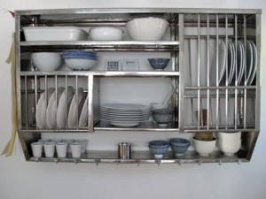 Metal Kitchen Wall Shelves