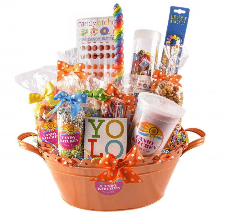 Nostalgic Candy Gift Baskets