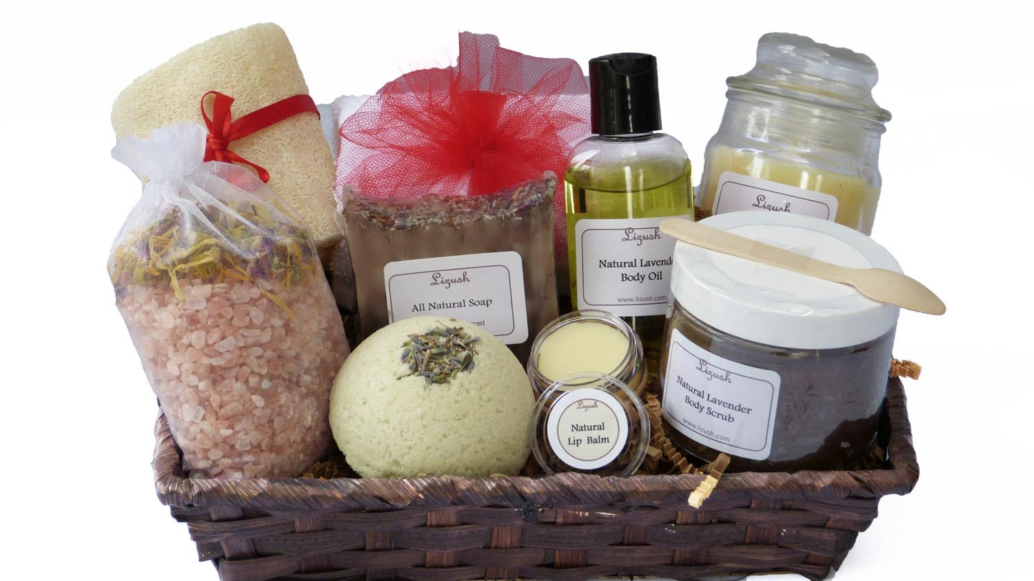 Organic Spa Gift Baskets