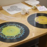 Painted Records Vinyl Record Art
