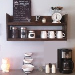 Rustic Kitchen Wall Shelves