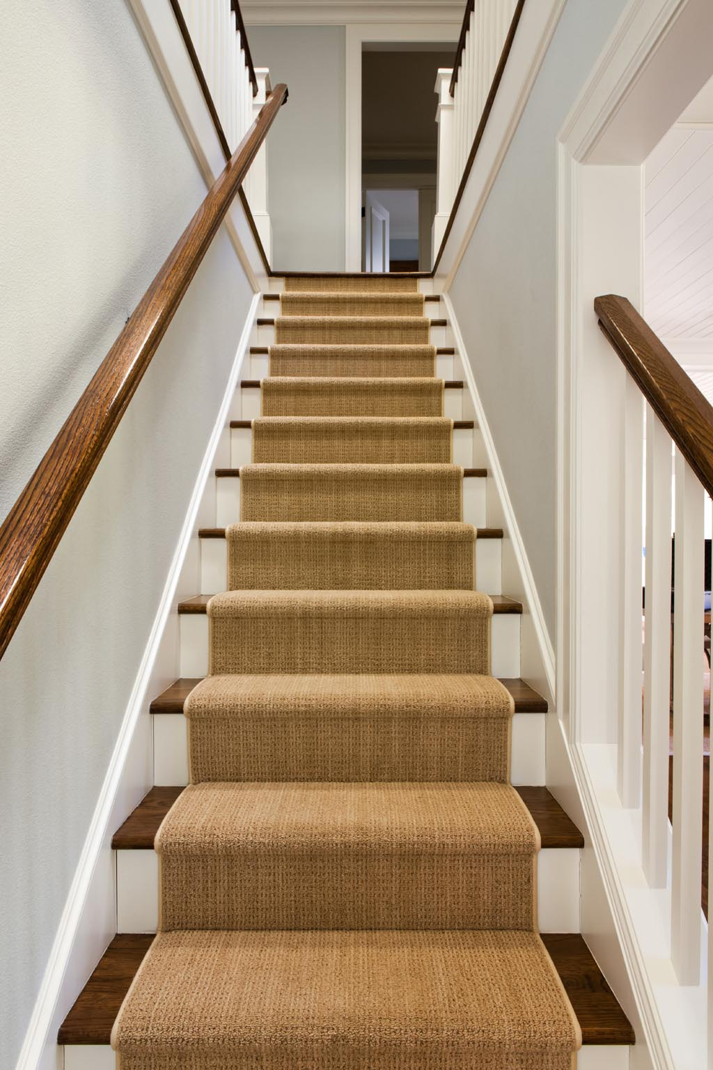 Stair Runners on Carpet