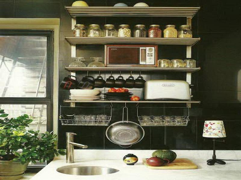 Kitchen Wall Shelves Built In Kitchen Wall Shelf Design