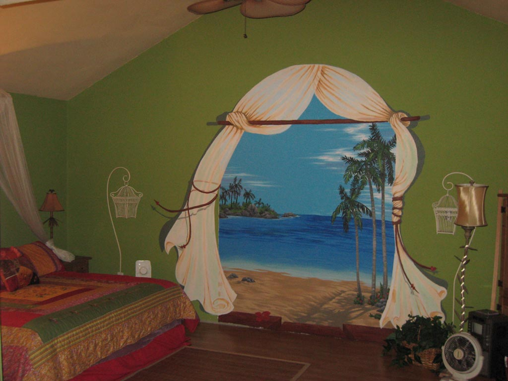 Wall Murals Beach Scenes